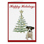 Jack Russell Holiday Card