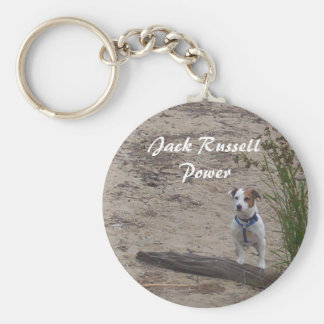 Jack Russell Power Key Ring