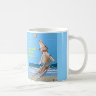 Jack Russell reaches the Moon Coffee Mug