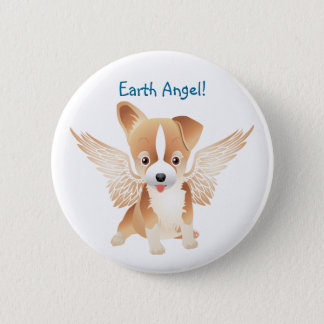 Jack Russell Terrier Angel Dog Gift Pin Brooch