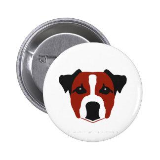 Jack Russell Terrier botton Pins