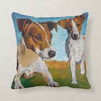 Jack Russell Terrier Cushion