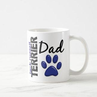 Jack Russell Terrier Dad 2 Basic White Mug