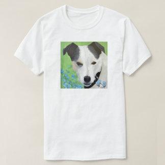 Jack Russell Terrier dog art t-shirt painted
