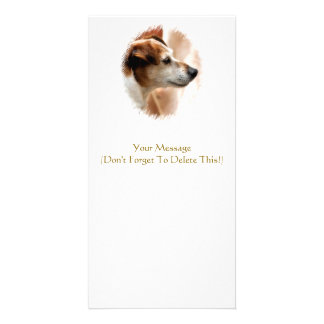 JACK RUSSELL TERRIER DOG CARD