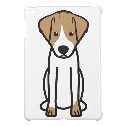 Jack Russell Terrier Dog Cartoon iPad Mini Covers
