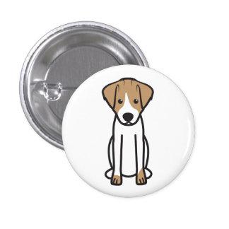 Jack Russell Terrier Dog Cartoon Pins