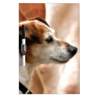 JACK RUSSELL TERRIER DOG DRY ERASE BOARD