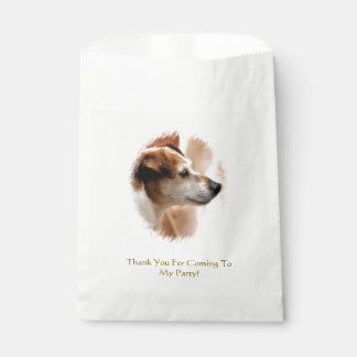 JACK RUSSELL TERRIER DOG FAVOUR BAG