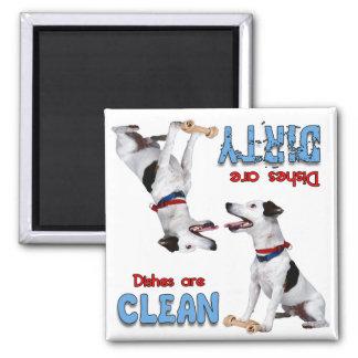 Jack Russell Terrier Dog Lovers Dishwasher Magnet