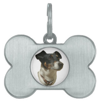 Jack Russell Terrier Dog Pet Tag