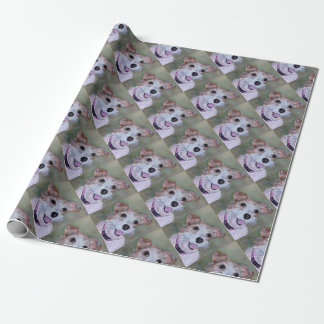 JACK RUSSELL TERRIER DOG WRAPPING PAPER