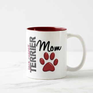 Jack Russell Terrier Mom 2 Two-Tone Mug