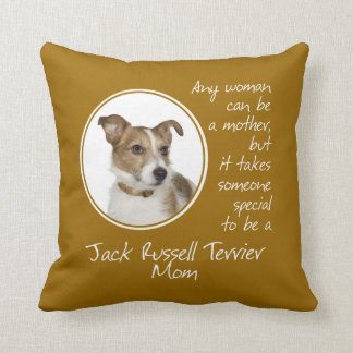 Jack Russell Terrier Mom Pillow