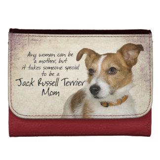 Jack Russell Terrier Mom Wallet