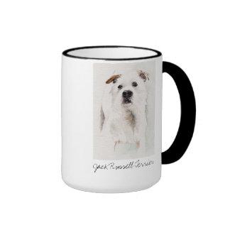 Jack Russell Terrier Painted in Watercolour Mug