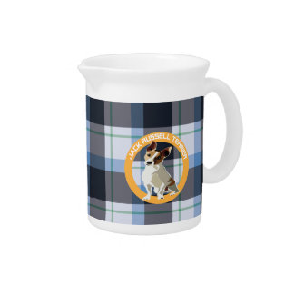 Jack Russell Terrier Drink Pitcher