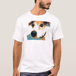 Jack Russell Terrier Pop Art Graphic T-shirt