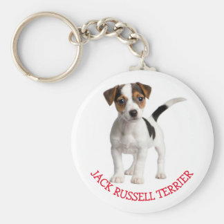 Jack Russell Terrier Puppy Dog Red Love Key Ring