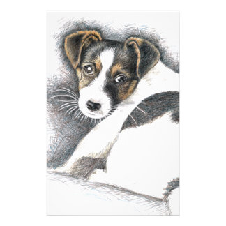 Jack Russell Terrier Puppy Stationery