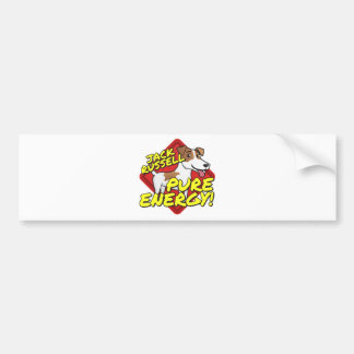 Jack Russell Terrier - Pure Energy Bumper Sticker