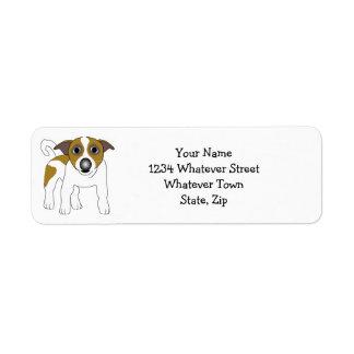 Jack Russell Terrier Return Address Label