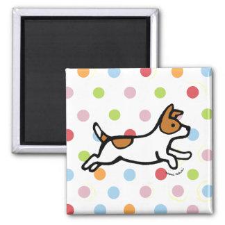 Jack Russell Terrier Running Magnet