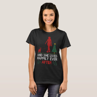 Jack Russell Terrier She Lived Happily Ever After T-Shirt