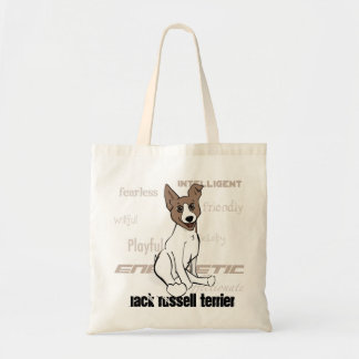 Jack Russell Terrier Tote Budget Tote Bag