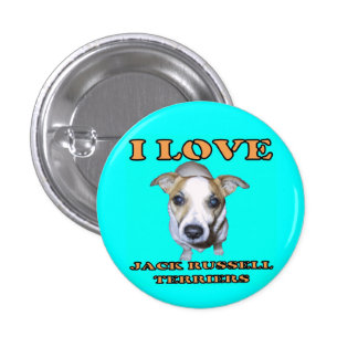 Jack Russell Terriers Button