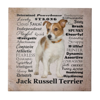 Jack Russell Traits Tile