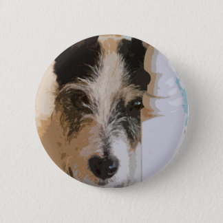 JACK RUSSELL WATCHES 6 CM ROUND BADGE