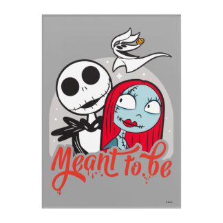 Jack & Sally | Meant to Be Acrylic Print