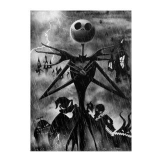 Jack Skellington | Ghostlike Charm Acrylic Print