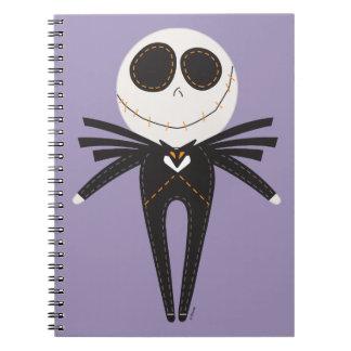 Jack Skellington Pook-a-Looz Notebooks