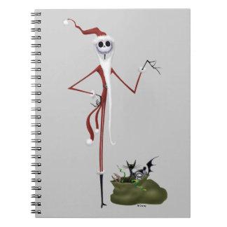 Jack Skellington | Sandy Claws Notebooks