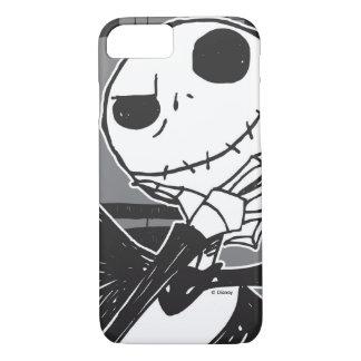 Jack Skellington | Spooky Eye Background iPhone 8/7 Case