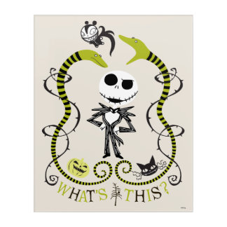 Jack Skellington | What's This? Acrylic Wall Art