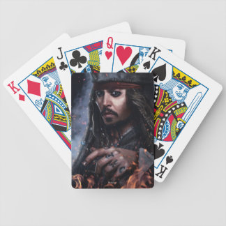 Jack Sparrow - Legendary Pirate Bicycle Playing Cards