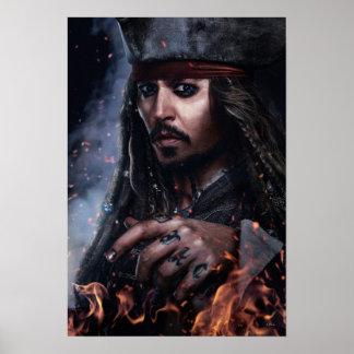 Jack Sparrow - Legendary Pirate Poster