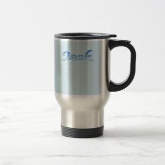 Jack stainless steel commuter mug