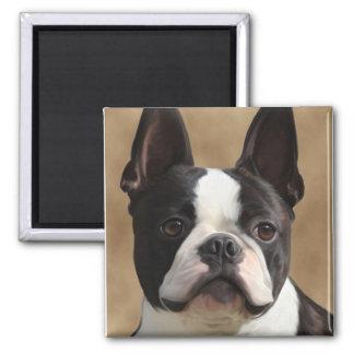 Jack the Boston terrier Magnet