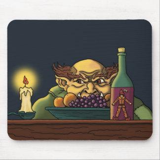 jack & the giant fairytale mousepad