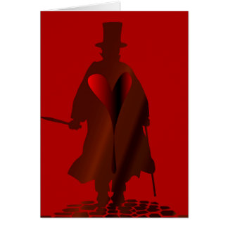 Jack the Ripper Heart Card