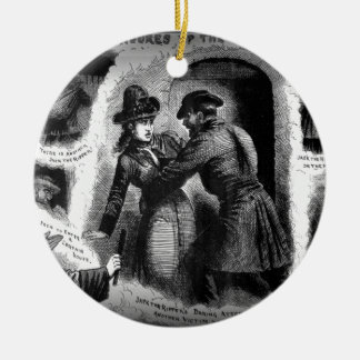 Jack the Ripper-Illustrated Police News-Winslow Ceramic Ornament