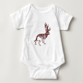 Jackalope Infant One Piece Baby Romper Bodysuit