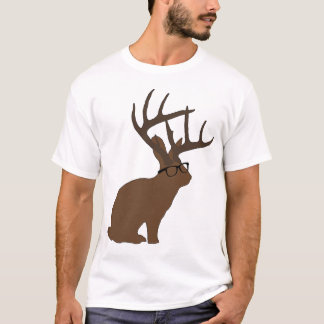jackalope with glasses T-Shirt