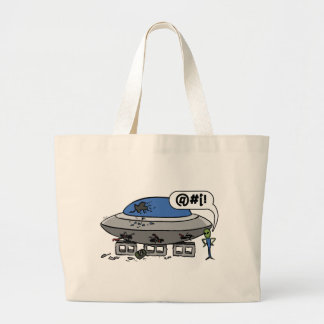 Jacked ship tote bags