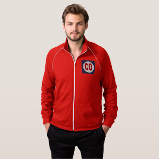 JACKET OF TRACK SUIT    DESIGN COLORADO THE USA