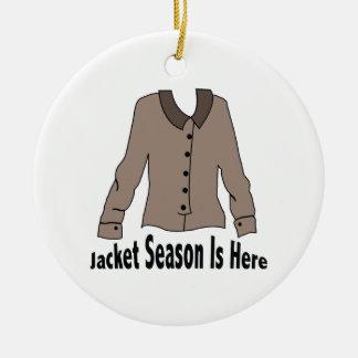 Jacket Season Ornaments